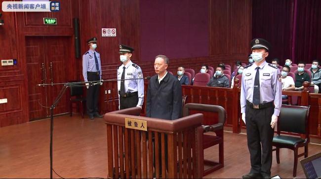 安徽高院原院长张坚受贿7179万余元 一审获刑15年
