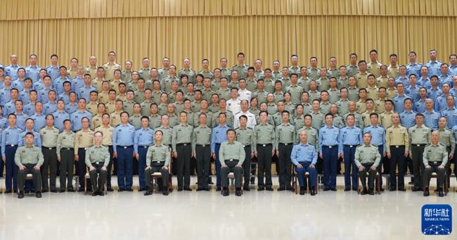 习近平在视察驻陕西部队某基地时强调 聚焦备战打仗 加快创新发展 全面提升履行使命任务能力