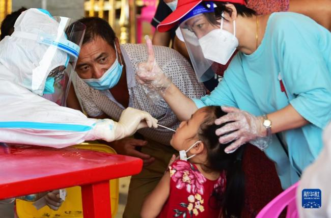 莆田:部分乡镇开展新一轮全员核酸检测