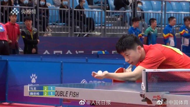 """""""全球顶级赛事"""" 奥运国乒男团在全运都打满了5局"""