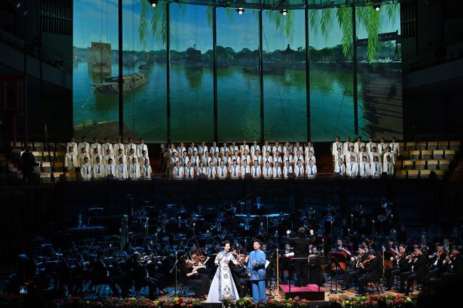 舞美呈现全新升级,《京城大运河》中秋再登台