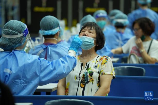 澳门开始第二次全民核酸检测