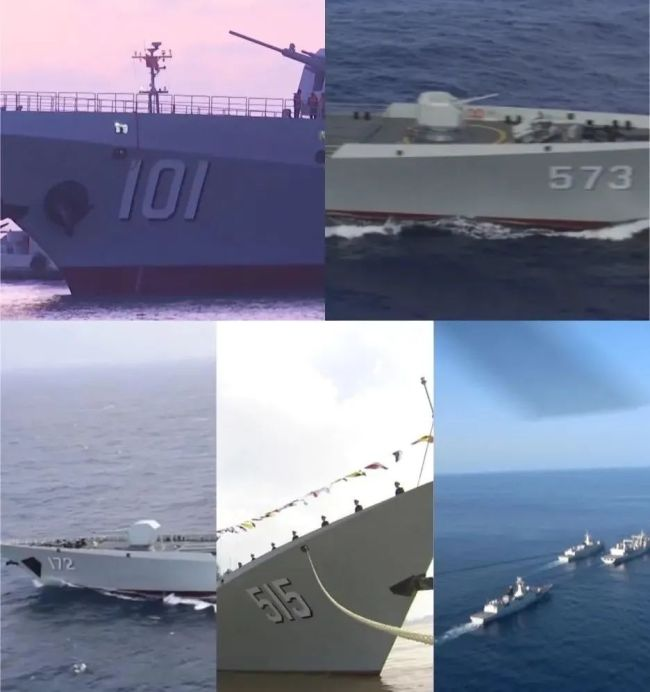 万吨大驱首次出国参演!南昌舰抵达俄罗斯!