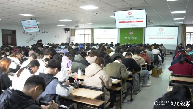 济南智博教育顺利举行第一场专升本模拟考试