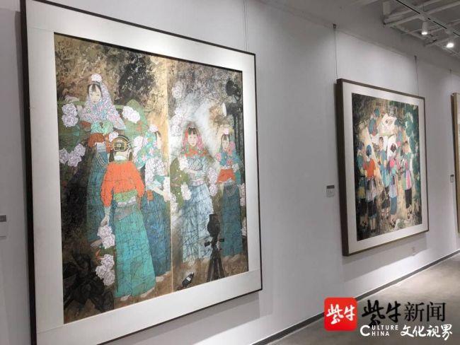 """""""与时舒卷——徐惠泉作品展""""在苏州大学美术馆开幕"""