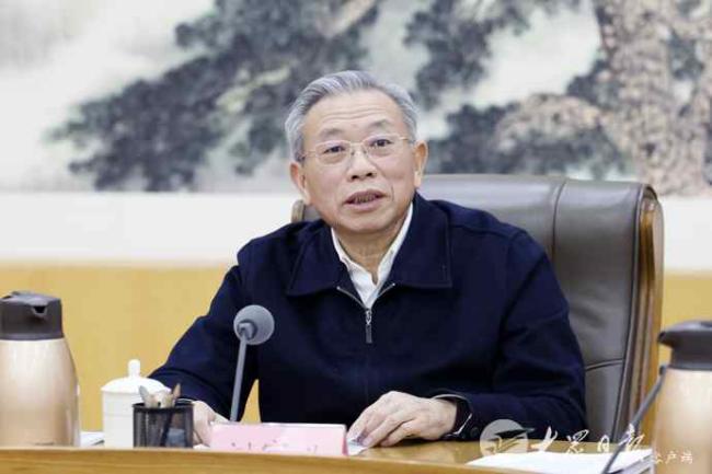 征求对经济工作的意见和建议 中共山东省委召开党外人士座谈会
