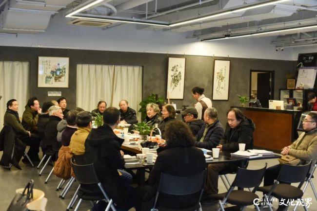 20余位艺术家多维度真诚解读,陈危冰田园山水作品展品鉴会在南京顺利举办