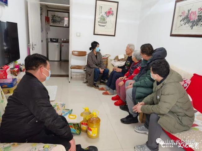 声声问候暖人心,句句嘱托传深情——山东省杂技团开展春节走访慰问活动
