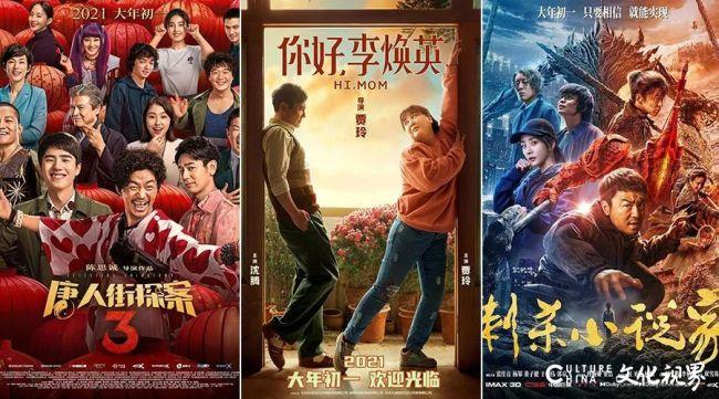 突破100亿元!2021年中国电影票房再创新高