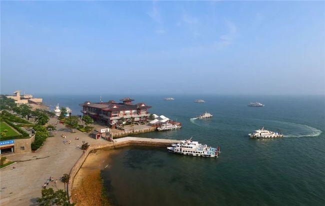 踏春赏花好去处,威海刘公岛景区本月免门票开放中