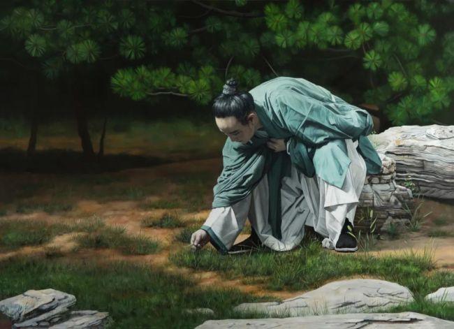 """凝固岁月 触碰内心——青年画家杜华和岳小飞心目中的""""好作品"""""""