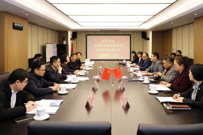 济南市委常委、统战部部长王拥华一行走访调研嘉林建设集团,对其给予充分肯定与期待