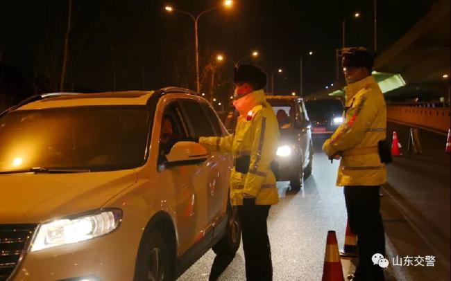2021年春运圆满收官,山东交警全警全力确保了交通安全快捷