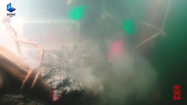 """央视播放《发掘记·永不沉没》,直击水下考古""""定远舰"""""""