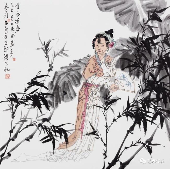 飘逸灵动,独具风神——著名画家徐惠泉的水墨人物画