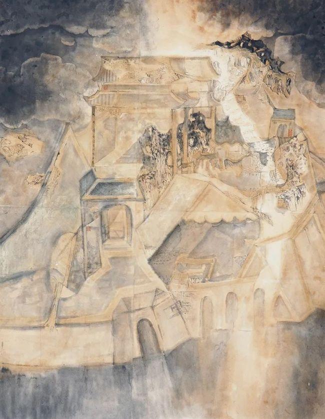"""不寻常的景,不寻常的画——青年画家云门张岩""""蛇岛游记"""""""