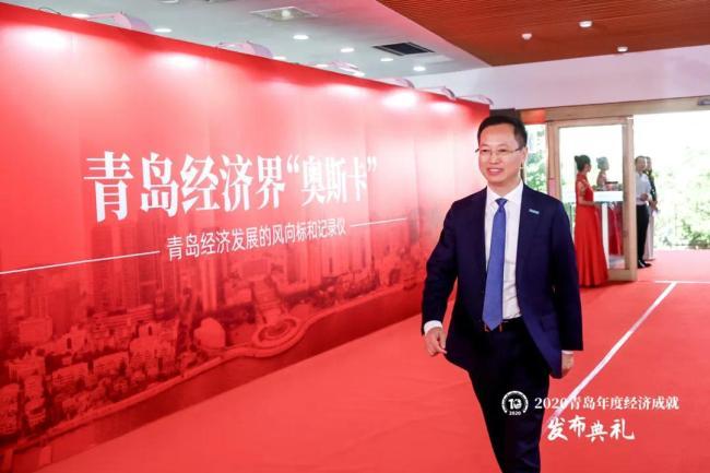 """海信集团获评2020青岛年度""""十强企业"""",总裁贾少谦当选""""年度经济人物"""""""