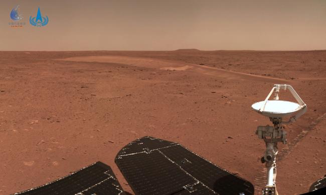 """""""祝融号""""火星车已行驶410米,工况正常"""