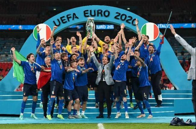 意大利点球4比3击败英格兰,时隔53年再获欧洲杯冠军
