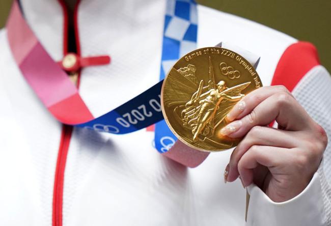 """奥运金牌""""含金量""""不高,仅含6克黄金剩余都是银"""