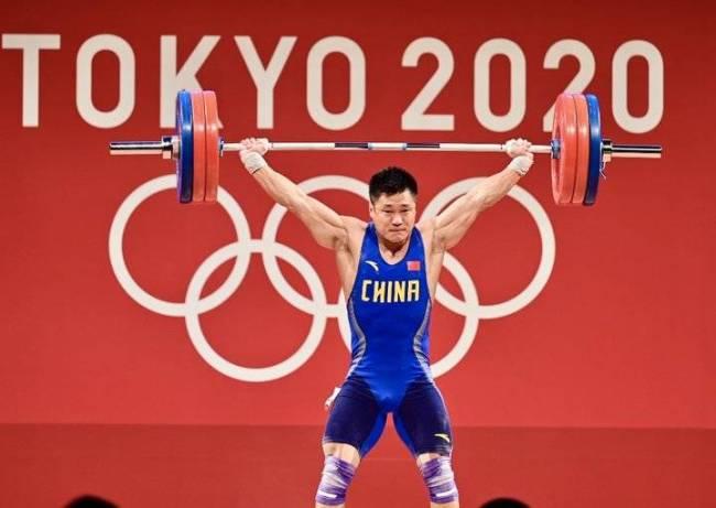 第21金!吕小军夺得男子81公斤级举重金牌
