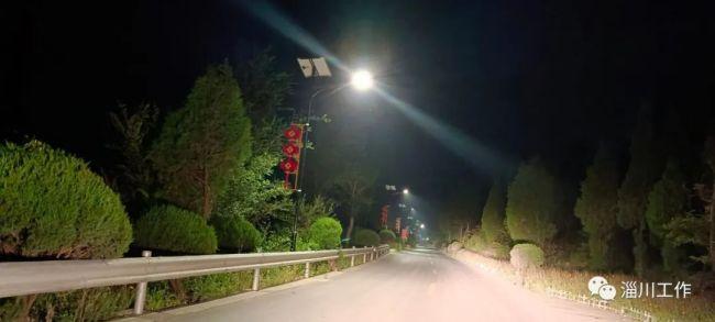 """""""破""""""""立""""结合,淄博淄川太河镇淄中路成为山区人民的幸福路"""