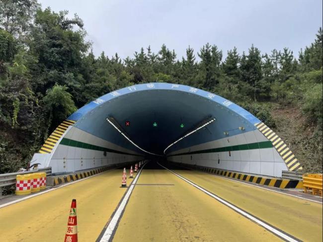 """国内首个!山东高速集团完成泡沫铝""""降噪耐火""""隧道改造工程"""
