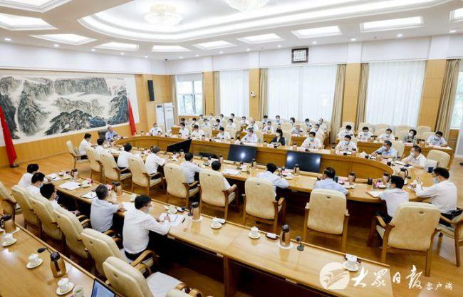 山东省委书记刘家义与省委政法委和省政法各单位班子成员集体谈心谈话