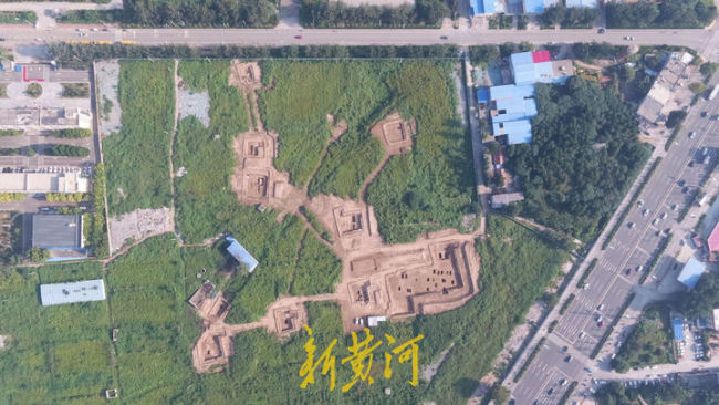 38座古墓葬集体现身济南长清,罕见东汉墓铺满太阳纹砖