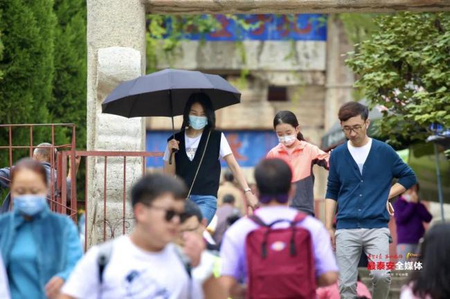 中秋假期泰安文旅活动精彩纷呈,共接待游客15.95万人次