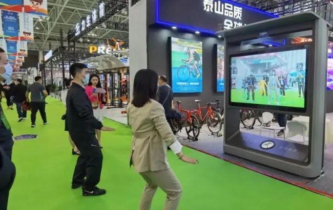 """泰山体育""""科技精品""""亮相第二届山东体育用品博览会"""