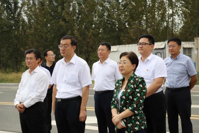 朱秀香一行到青岛莱西经济开发区调研,共话双莱一体化发展
