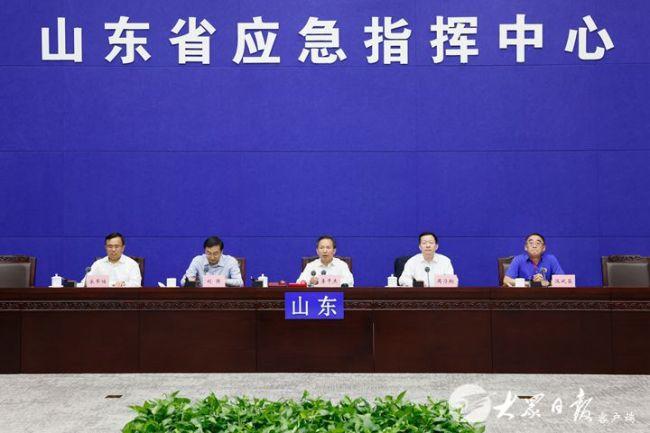 李干杰 周乃翔调研济南节日期间保供稳价和应急值守工作