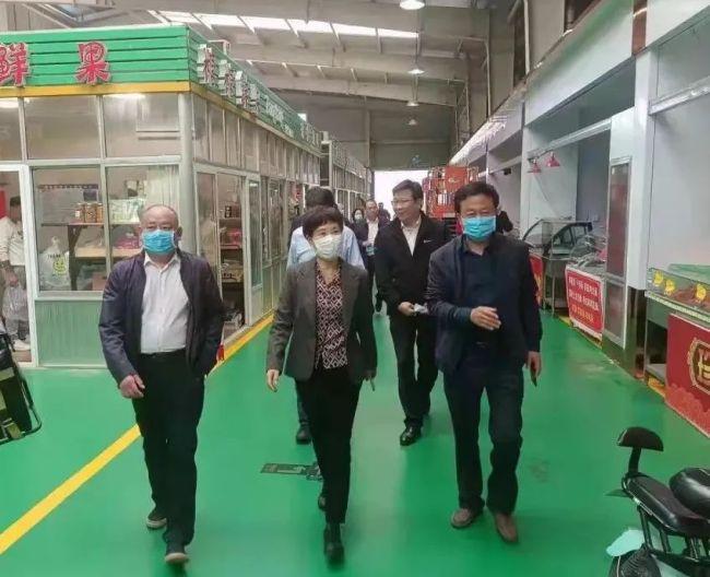 毕红卫到淄博高新区督导迎接国家卫生城市复审工作