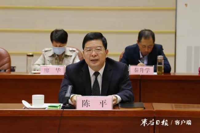 枣庄市委书记陈平:深入实施全民健身国家战略,加快体育领域智慧化建设