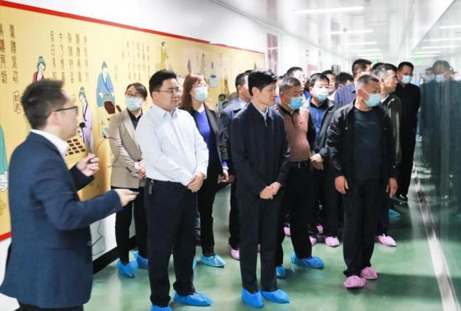 枣庄市委党校2021年秋季进修班学员到高新区开展现场教学活动