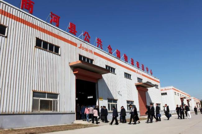 济南市统战部副部长张鹏一行到佳怡商河园区调研