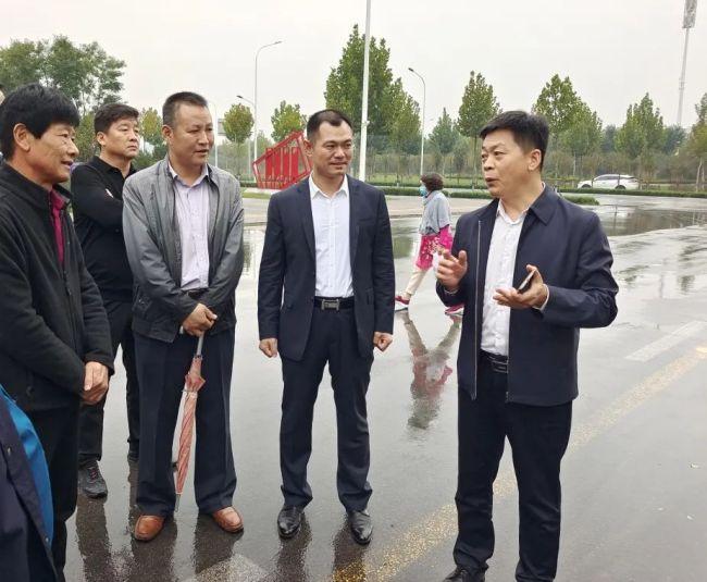 淄博高新区领导到挂包片区开展创城督导