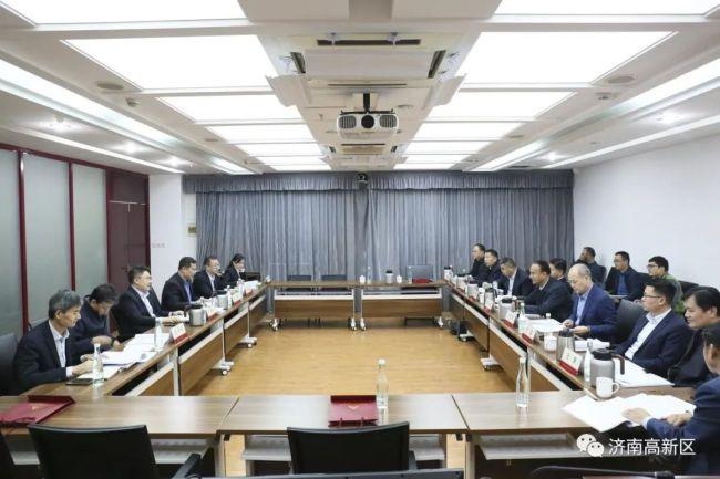 焦卫星:济南高新区将与农业发展银行按照任务节点强力推进优质项目