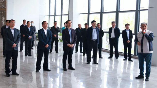 枣庄市人大常委会视察组到高新区视察科技工作开展情况