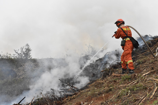 以演筑防丨西安市开展2021年森林草原火灾扑救综合应急演练