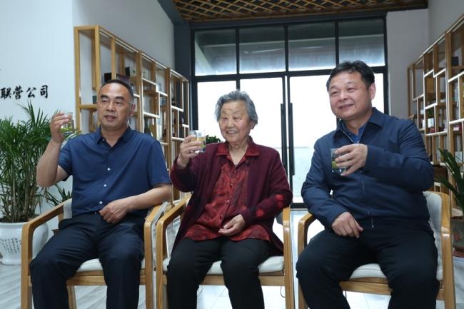 陕西商南三代茶人传承接力创出北纬33°奇迹