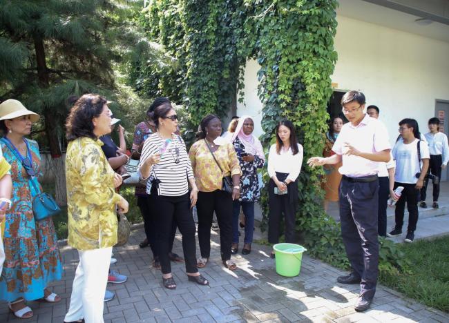 驻华大使夫人走进沣西,感受科技创新与绿色发展的魅力