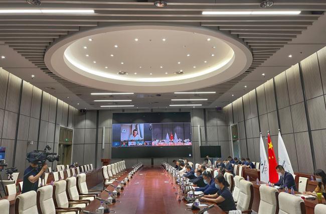 北京冬奥组委执行副主席:10月进入赛时运行阶段