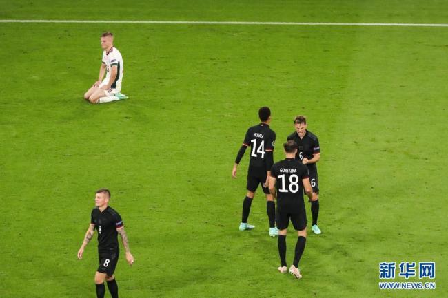 欧锦赛:德国队战平匈牙利队 涉险小组出线