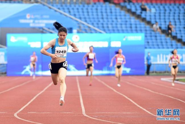 全国锦标赛:刘国娟获女子400米冠军