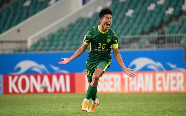 一脚世界波,梁少文刷新中国球员亚冠赛场纪录