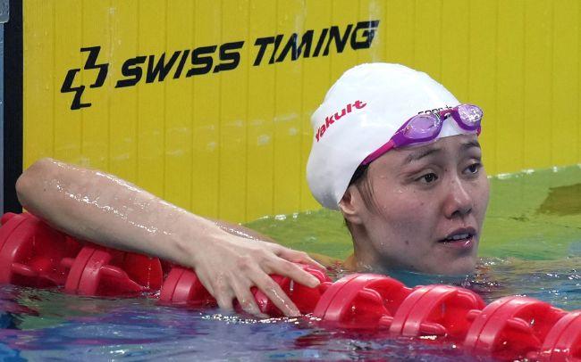"""中国游泳队奥运名单""""缩水"""" 女子项目3名将落选"""