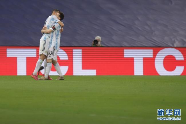 美洲杯:阿根廷队夺冠