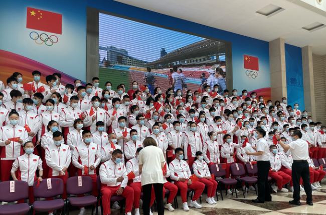 东京奥运会中国体育代表团名单公布:总人数777人
